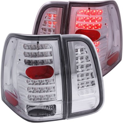 Lincoln Navigator 2003-2006 Clear LED Tail Lights