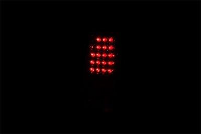 Chevy Silverado 2500HD 2003-2006 LED Tail Lights Chrome
