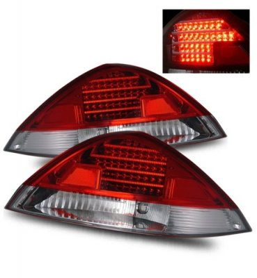 Honda Accord Coupe 2003 2005 Led Tail Lights Red And Clear A132kc0c109 Topgearautosport