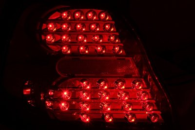Pontiac Grand Prix 2004 2008 Clear Led Tail Lights