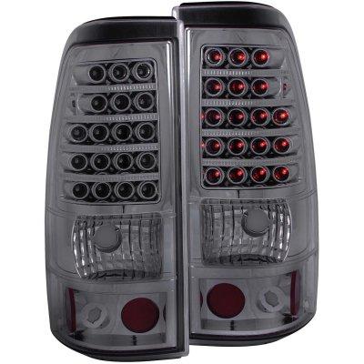 Chevy Silverado 2003-2006 LED Tail Lights Smoked
