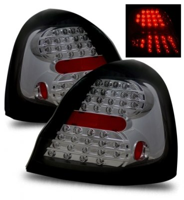 pontiac grand prix 2004 2008 led tail lights smoked. Black Bedroom Furniture Sets. Home Design Ideas