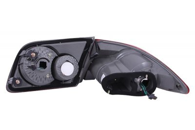 Mazda 6 2003-2005 Red and Clear LED Tail Lights