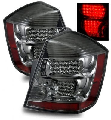 Nissan Sentra 2007 2012 Led Tail Lights Smoked