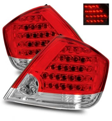 Scion tC 2005-2007 LED Tail Lights Red and Clear