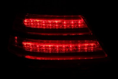 Ford Crown Victoria 1998 2008 Led Tail Lights With Chrome