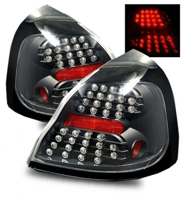 pontiac grand prix 2004 2008 led tail lights black. Black Bedroom Furniture Sets. Home Design Ideas