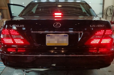 Lexus Ls430 2001 2003 Led Tail Lights A101rcpq109