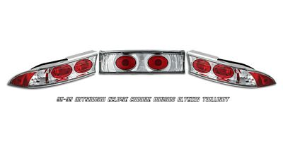 Mitsubishi Eclipse 1995-1999 Clear Altezza Tail Lights