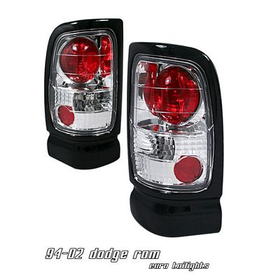 Dodge Ram 1994-2001 Chrome Altezza Tail Lights