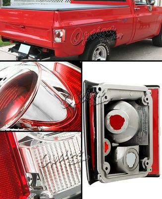 GMC C15 Pickup 1973-1987 Clear Altezza Tail Lights