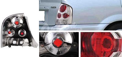 Mazda Protege 1999-2003 Clear Altezza Tail Lights