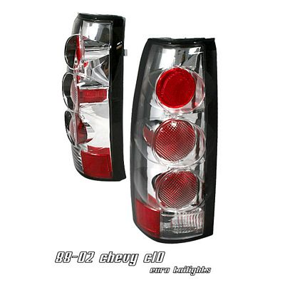 Chevy Suburban 1992-1999 Chrome Altezza G2 Tail Lights