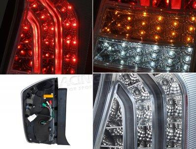 Toyota Prius 2010-2012 Chrome LED Tail Lights