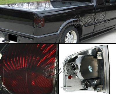 Chevy S10 1994 2004 Smoked Altezza Tail Lights