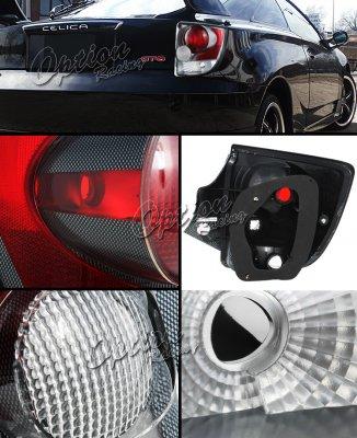 Toyota Celica 2000-2005 Carbon Fiber Altezza Tail Lights