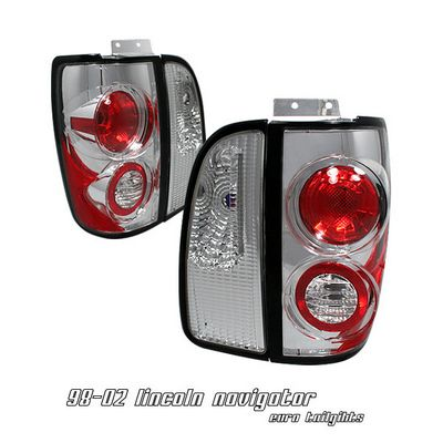 Lincoln Navigator 1998-2002 Clear Altezza Tail Lights