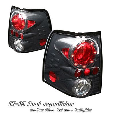 Ford Expedition 2003-2006 Carbon Fiber LED Cap Altezza Tail Lights