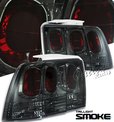 Ford Mustang 1999-2004 Smoked Altezza Tail Lights