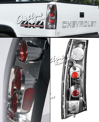 GMC Yukon 1992-1999 Smoked Altezza Tail lights
