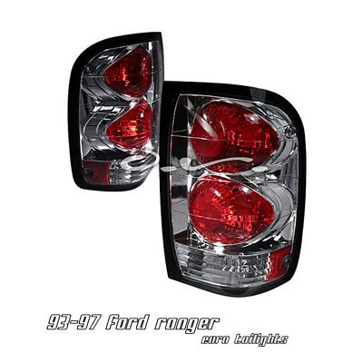 Ford Ranger 1993-2000 Chrome Altezza Tail Lights