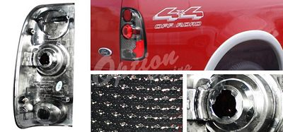 Ford F150 1997-2003 Smoked Altezza Tail Lights
