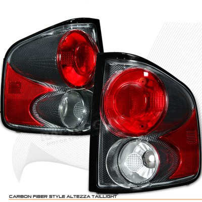 Chevy S10 1994-2004 Carbon Fiber Altezza Tail Lights
