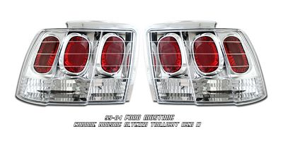 Ford Mustang 1999-2004 Chrome Altezza G1 Tail Lights