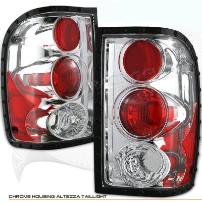 Ford Ranger 2001-2005 Clear Altezza Tail Lights