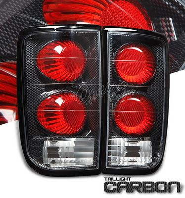Chevy Blazer 1995-2004 Carbon Fiber Altezza Tail Lights