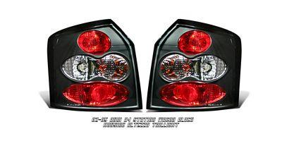 Audi A4 Station Wagon 2002-2005 Black Altezza Tail Lights