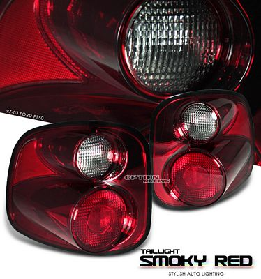 Ford F150 Flareside 1997-2003 Smoky Red Altezza Tail Lights