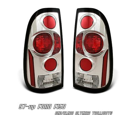 Ford F150 1997-2003 Chrome Altezza Tail Lights
