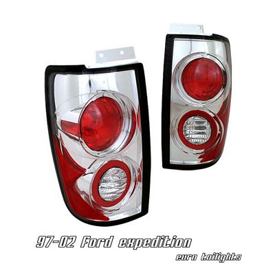 Ford Expedition 1997-2002 Clear Altezza Tail Lights