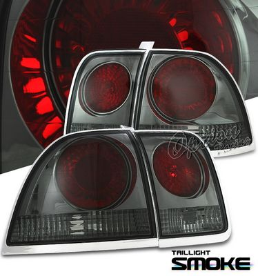 Honda Accord 1996-1997 Smoked Altezza Tail Lights