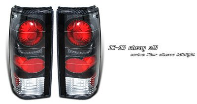 Chevy S10 1982-1993 Carbon Fiber Altezza Tail Lights