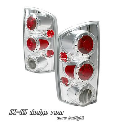Dodge Ram 2002-2005 Chrome Altezza Tail Lights