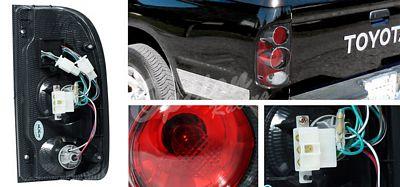 Toyota Tacoma 1995-2000 Carbon Fiber Altezza Tail Lights