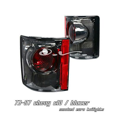 Chevy C10 1973-1987 Smoked Altezza Tail Lights