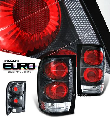 Ford Ranger 1993-2000 Carbon Fiber Altezza Tail Lights