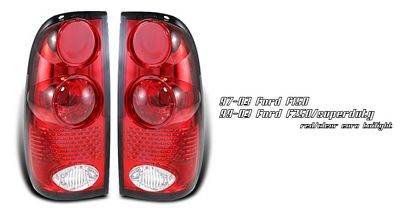Ford F150 1997-2003 Red Altezza Tail Lights