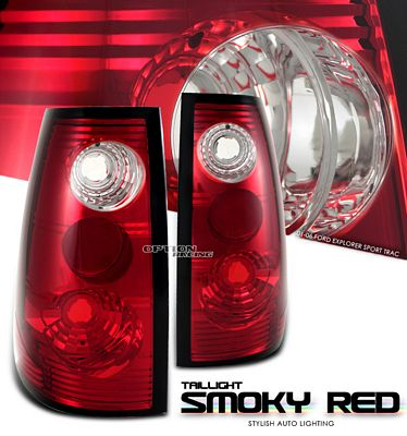 Ford Explorer Sport Trac 2001-2005 Smoky Red Altezza Tail Lights
