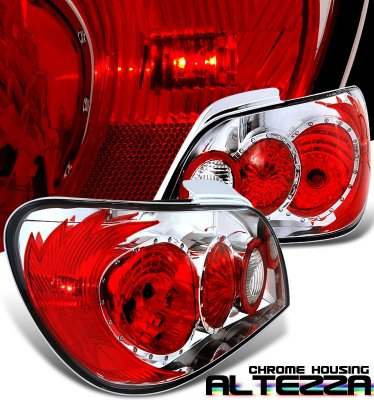 Subaru Impreza WRX 2002-2003 Clear Altezza Tail Lights