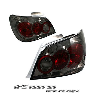 Subaru Impreza 2002-2003 Smoked Altezza Tail Lights