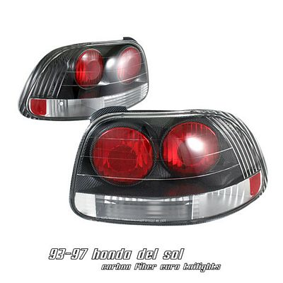 Honda Del Sol 1993-1997 Carbon Fiber Altezza Tail Lights