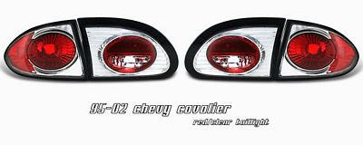 Chevy Cavalier 1995-2002 Clear Altezza Tail Lights