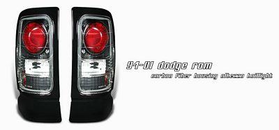 Dodge Ram 1994-2001 Carbon Fiber Altezza Tail Lights