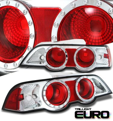 Acura RSX 2002-2004 Clear Altezza Tail Lights