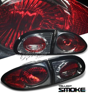Chevy Cavalier 1995-2002 Smoked Altezza Tail Lights