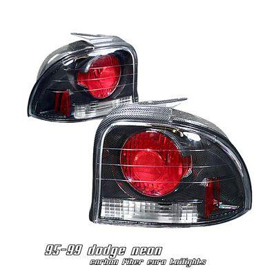 Dodge Neon 1995-1999 Carbon Fiber Altezza Tail Lights